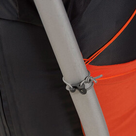 Bergans Helium 55 Solid Charcoal/Koi Orange